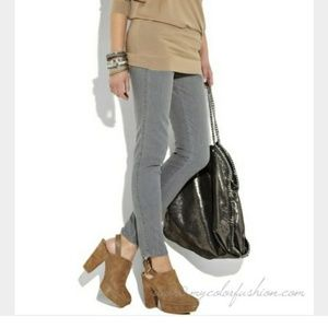 Kors Michael Kors Quincy Suede Mules in Taupe